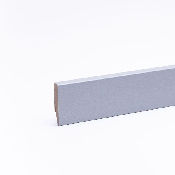 Sockelleiste 60mm im Dekor Edelstahl