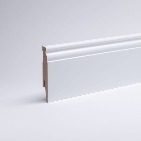 berlin profile with MDF-Core 100mm opaque white