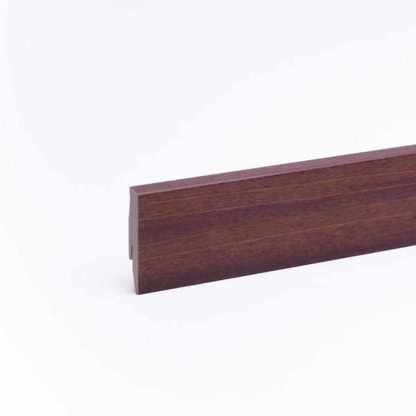 Sockelleiste mit Holzoptik 60mm Merbau