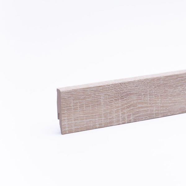 Sockelleiste mit Holzoptik 60mm Eiche White Washed