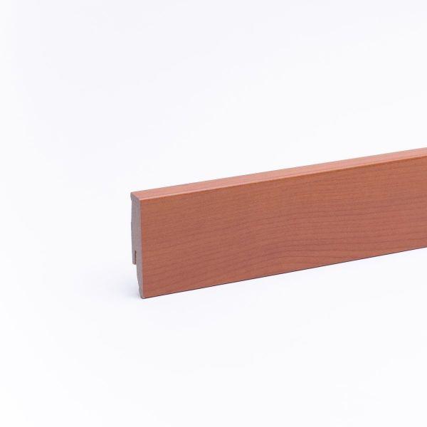 Sockelleiste mit Holzoptik 60mm Kirsche natur