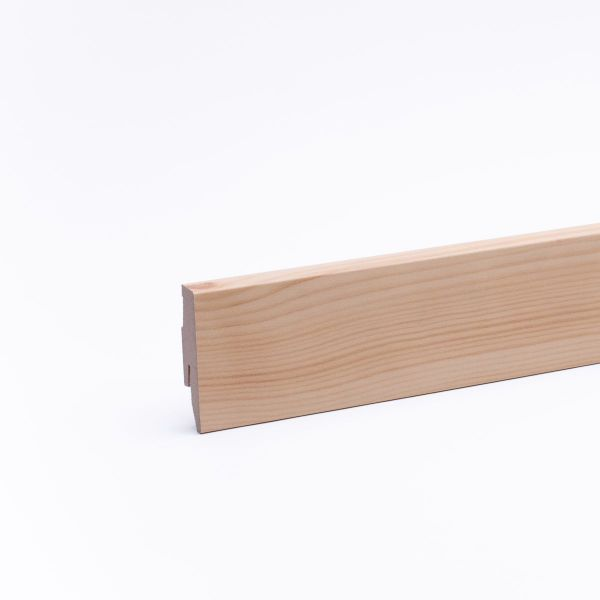 Sockelleiste mit Holzoptik 60mm Kiefer